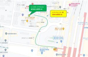 鹿児島中央駅からレンタカー    レンタカーテラス39鹿児島中央駅西口店